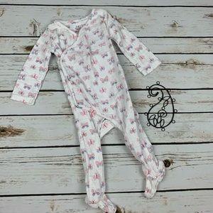 Aden & Anais Infant Girl Kimono 1 Piece Butterfly